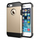 Coque iPhone 5 /5S Tough Armor Champagne Gold SPIGEN SGP